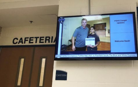 Hallway TVs acquired by South to help increase communication between administration, students