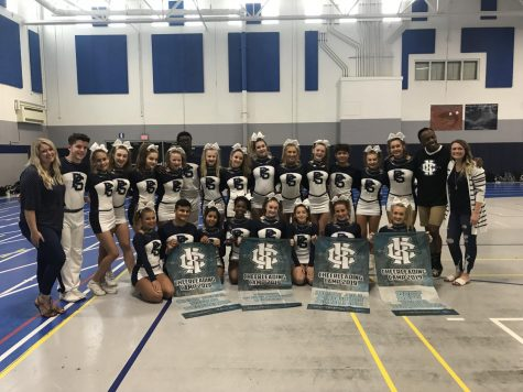 Varsity Cheer refines routine, strengthens bonds
