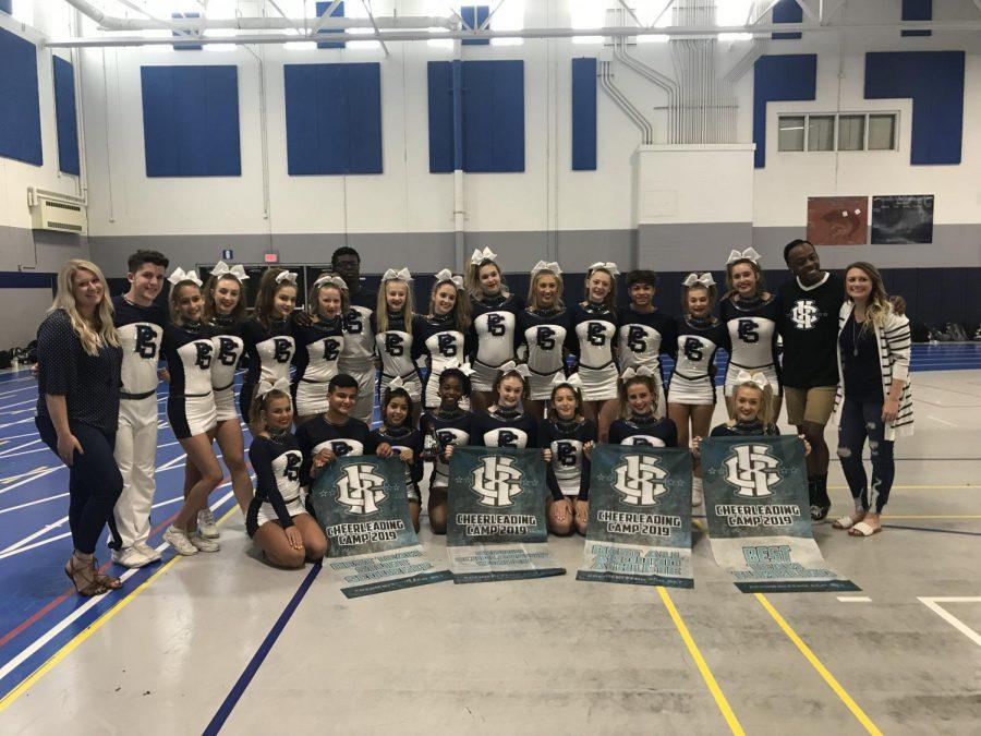 Varsity Cheer refines routine, strengthens bonds