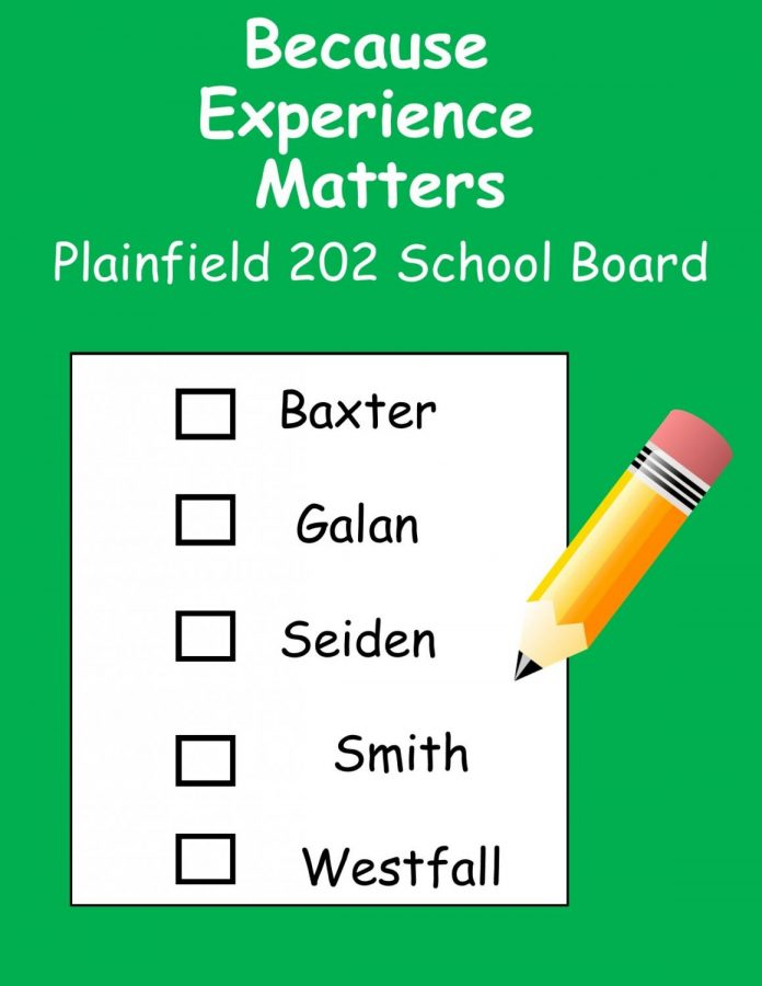 These are the five candidates recommended by the Association of Plainfield Teachers Union.