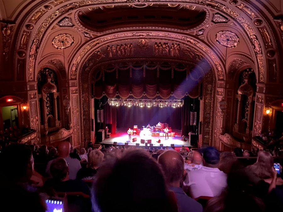Dwight Yoakam performs in front of a live audience in August